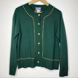 VTG Pendleton Wool Mix Cardigan | Medium